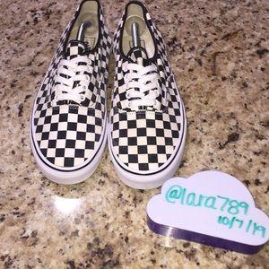Men's Checkered Vans